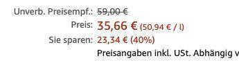 Abgelaufen! Michters US 1 Bourbon Whisky 0,7 Liter für 35,66€ (statt 51€)