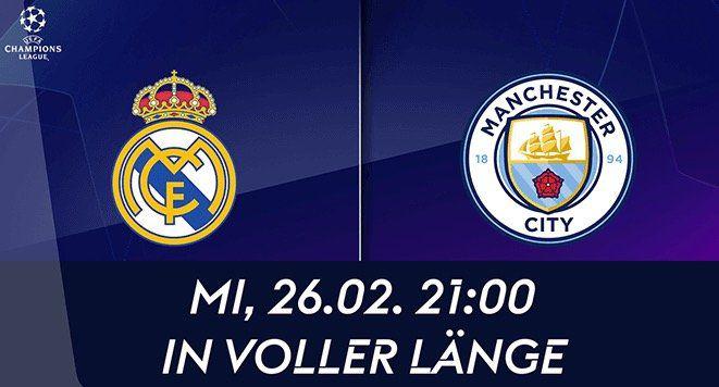 Real vs. Man City: Sky Live Sport komplett inkl. Bundesliga, CL oder Premiere League ein Jahr für 19,99€ mtl.   auf 2 Geräten!