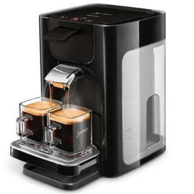 Senseo Kaffeepadmaschine Quadrante HD7865/60 für 62,99€ (statt 82€)