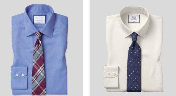 4 Charles Tyrwhitt Hemden für 129€ oder 25% Rabatt auf alles andere