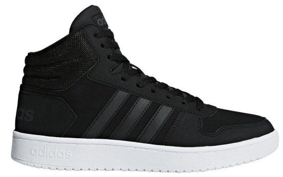 adidas VS Hoops Mid 2.0 in Core Black für 45,45€ (statt 52€)