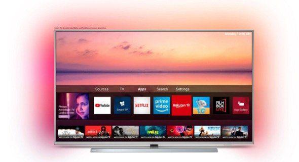 Philips 50PUS6804/12 LED TV mit UltraHD & Ambilight für 359€ (statt 499€)