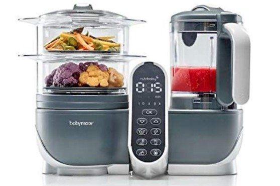 Babymoov Küchenmaschine Nutribaby Plus in Industrial Grey für 66,90€ (statt 112€)