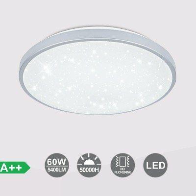 LED Deckenleuchte mit Sternenhimmel Effekt und 60W Kaltweiß für 20,40€ (statt 51€)