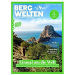8 Ausgaben Bergwelten für 44€ + Prämie: 40€ Amazon-Gutschein