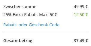 A.T.U. Klimaanlagen Wartung inkl. Kältemittel (R 134a) für 37,49€