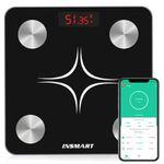 INSMART Körperfettwaage (max 180kg) mit App-Anbindung für 19,99€ (statt 40€)