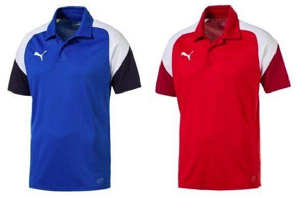 Puma Esito 4 Herren Poloshirt in Schwarz, Blau oder Rot für je 5€ (statt 19€)