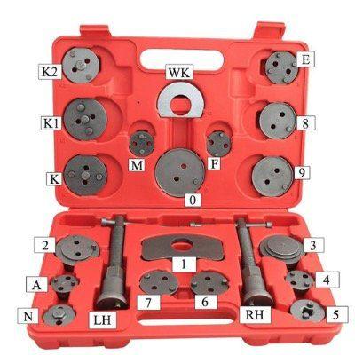 BMOT Bremskolbenrücksteller Set (22tlg) für 14,41€ (statt 21€)