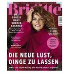 6 Ausgaben der Brigitte für 24€ + 28€ Verrechnungsscheck