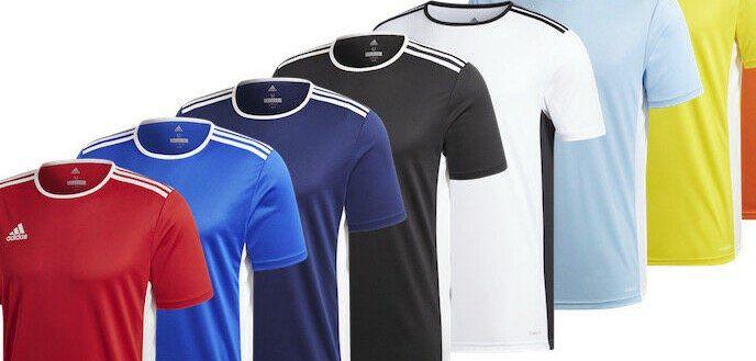 adidas Performance Entrada 18   Herren Fußballtrikot div. Farben für je 11,99€ (statt 16€)