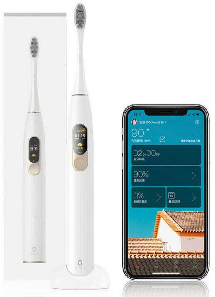 Xiaomi Oclean X Schallzahnbürste mit Touchscreen für 41,64€   aus DE