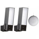 2er Pack Netatmo Presence Outdoor-Sicherheitskamera mit Flutlicht + Google Home mini ab 474,95€ (statt 522€)
