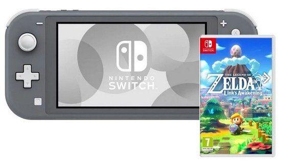 Nintendo Switch Lite + The Legend of Zelda: Links Awakening für 214,49€ (statt 240€)