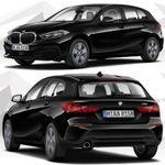 Privat und Gewerbe: BMW 118i mit 140PS in Schwarz für 175€ mtl. – LF: 0,71