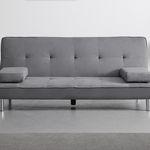 """Dreisitzer-Sofa """"Esther"""" mit Schlaffunktion in Grau inkl. Lieferung für 190,45€"""