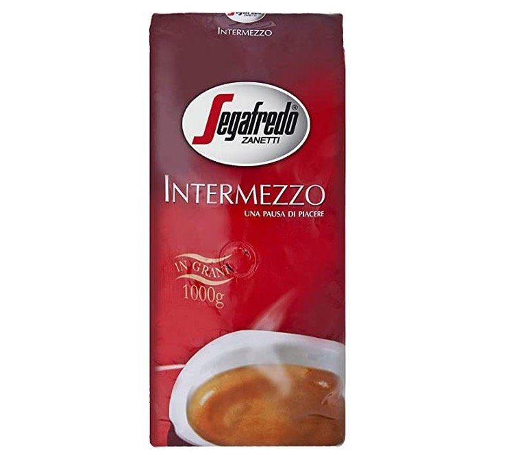Vorbei! 1kg Segafredo Intermezzo Ganze Bohnen ab 8,54€