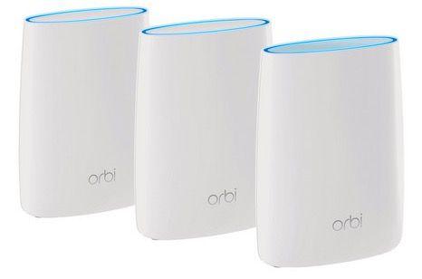 3x Netgear Orbi AC3000 WLAN System (RBK53) für 399,99€ (statt 542€)