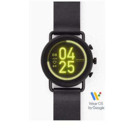 Skagen Falster 3 HR Smartwatch mit Leder Armband für 159€ (statt 239€)