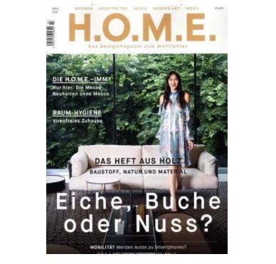 H.O.M.E. Jahresabo für 40€ inkl. 30€ Verrechnungsscheck