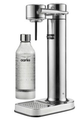 Aarke Carbonator II Design Wassersprudler + 1 Flasche für 99 (statt 119€)