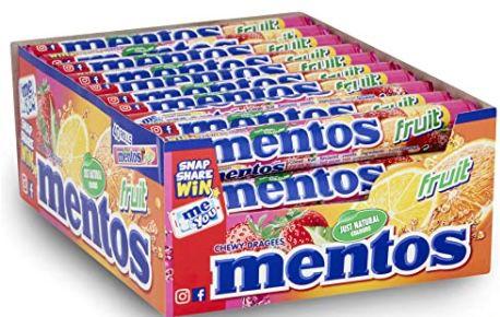 40er Pack Mentos Fruit Dragees Kaubonbons ab 12,34€ (statt 18€)
