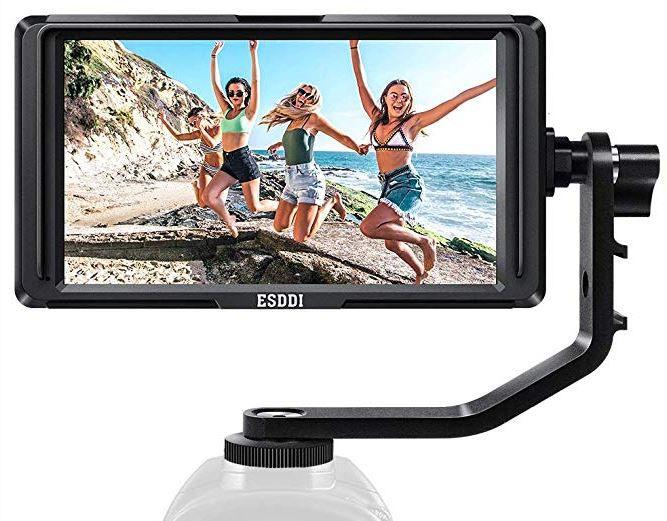 ESDDI F5 FullHD IPS 5 Zoll Kamera Monitor für 99,19€ (statt 160€)