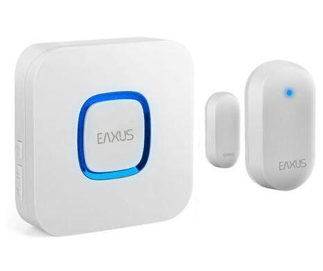 Eaxus Funk Türkontakt und Durchgangsmelder mit Türgong für 16,99€ (statt 20€)