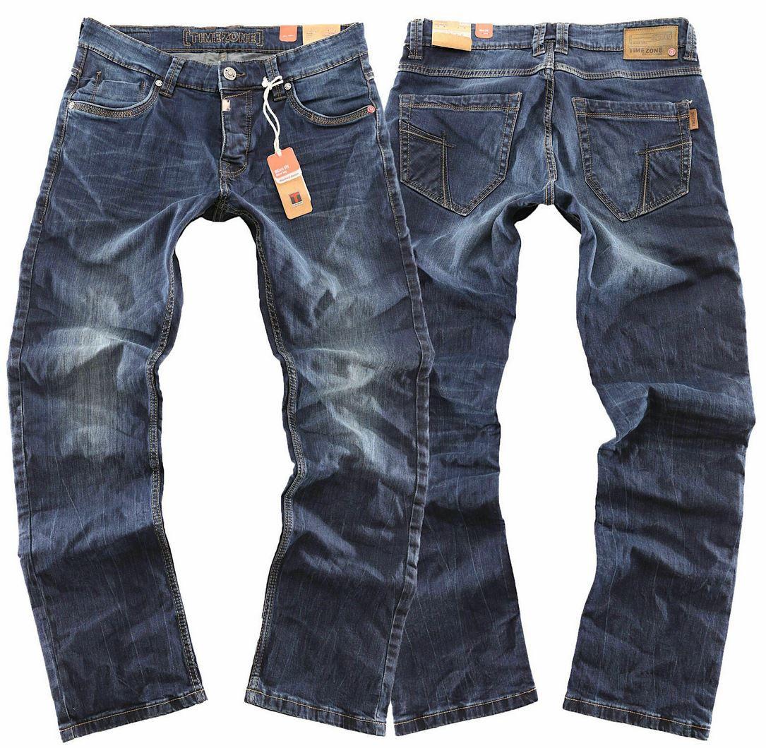 Timezone Eduardo TZ 3728 Herren Jeans raywash für 39,99€ (statt 55€)
