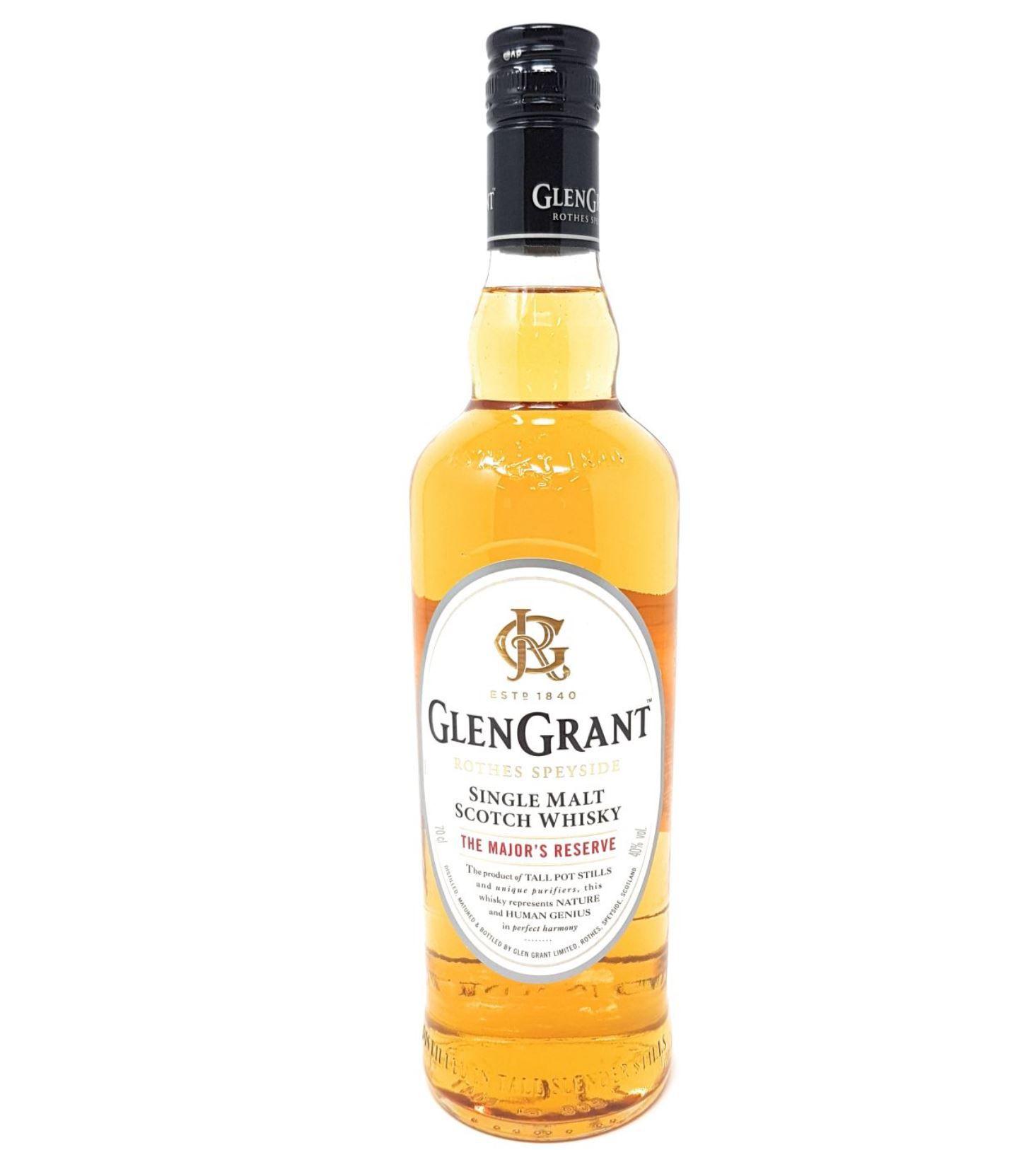 Ausverkauft! Glen Grant The Major's Reserve Single Malt Scotch Whisky für 12,99€ (statt 21€)