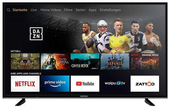 GRUNDIG 43GUB7062 FIRE TV EDITION mit 43, UHD 4K und Triple Tuner für 316,37€ (statt 369€)