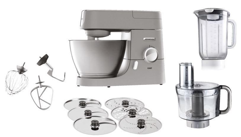 Kenwood KVC3150S Chef Küchenmaschine 4,6L für 277€ (statt 320€)