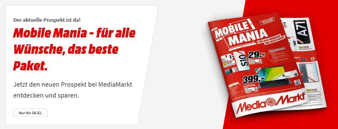 Media Markt Mobile Mania Aktion: z.B. BLAUPUNKT Bluebot Xboost Staubwischroboter für 269€ (statt 385€)