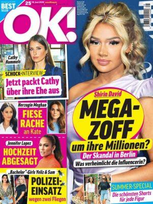 TOP! 26 Ausgaben der OK! für 72,80€ + 75€ Amazon Gutschein