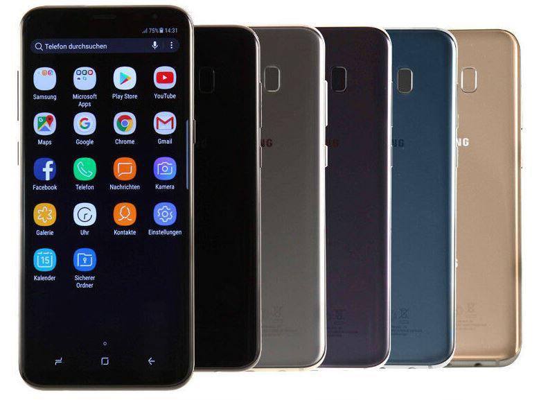 Samsung Galaxy S8 Plus mit 64 GB für 152,90€ (statt neu 329€)   Gebrauchtware