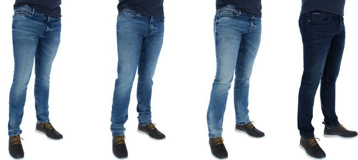 Tommy Hilfiger Herren Jeans Skinny & Slim & Slim Tapered für je 49,90€ (statt 60€)