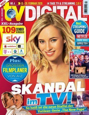 8 Ausgaben tv DIGITAL XXL für 14,70€ + 15€ Scheckprämie
