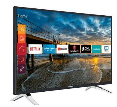 TELEFUNKEN D43U297N4CWH LED TV mit 43/109 cm und UHD 4K für 279€