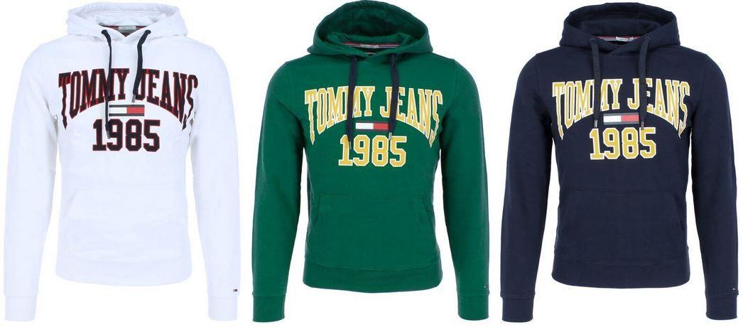 Tommy Jeans Herren Hoody Essential Graphic für 49,90€ (statt 65€)