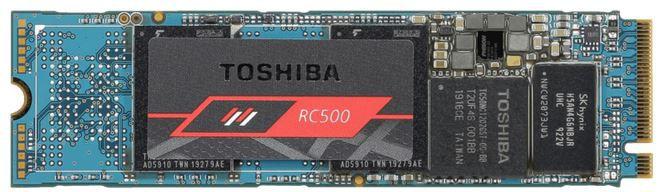 TOSHIBA RC500   250 GB interne M.2 SSD für 36€ (statt 45€)