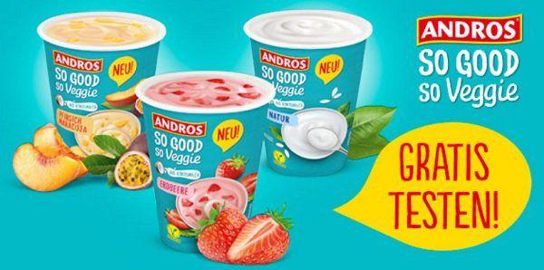 Veggie Eis von Andros kostenlos testen