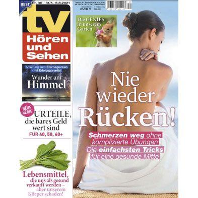 13 Ausgaben TV Hören und Sehen für 32,50€ – Prämie: 30€ Amazon Gutschein