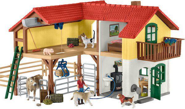 Schleich Bauernhaus mit Stall und Tieren (42407) für 43,53€ (statt 53€)