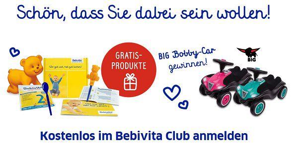 Bebivita: Gratis Produktproben und Info Material erhalten