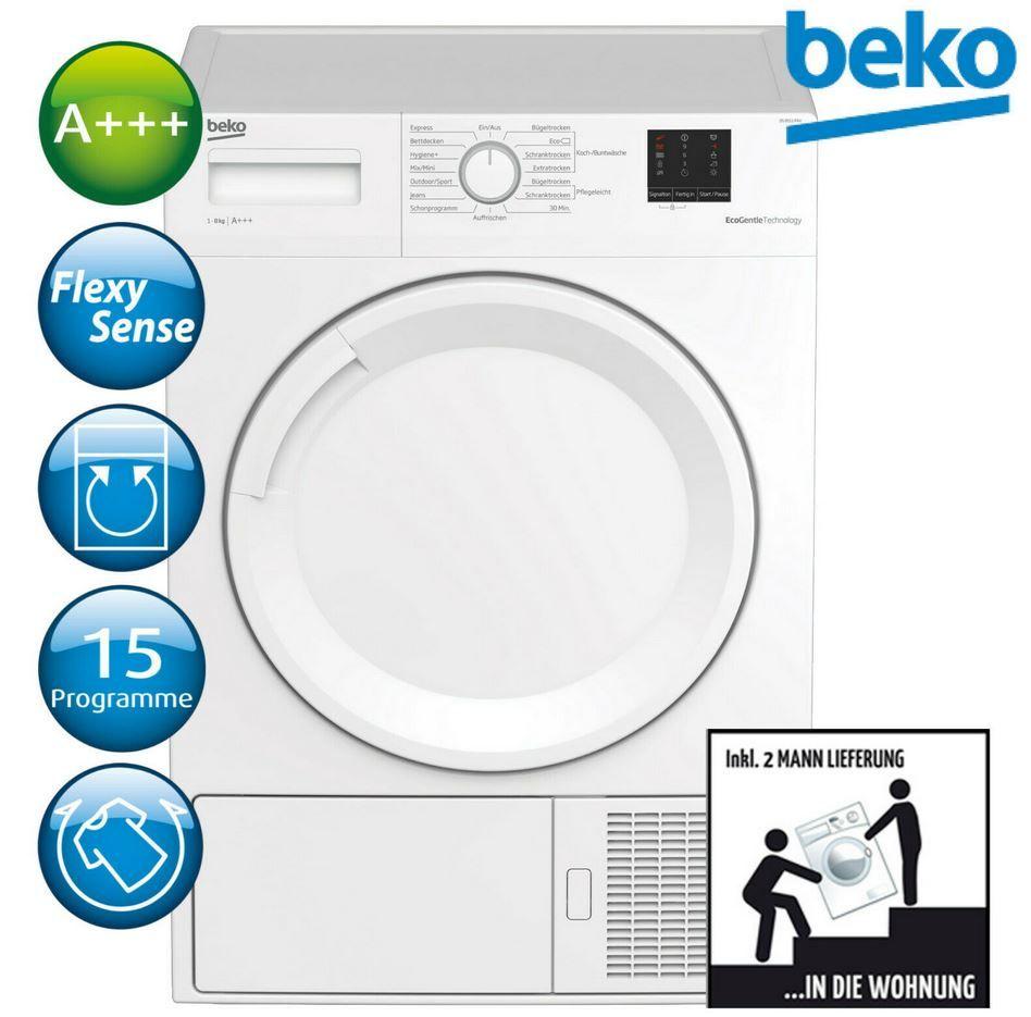 Beko DS 8511 PAV Wärmepumpentrockner 8kg  A+++ für 377,91€ (statt 462€)