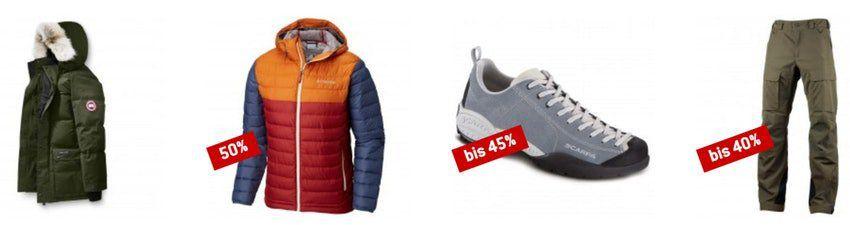 Bergfreunde: Großer Outdoor Sale mit bis zu 80% Rabatt + 5€ Newsletter Gutschein
