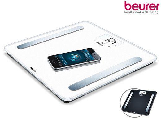 Beurer BF 600 Personenwaage mit Bluetooth + Appanalyse für 25,90€ (statt 36€)