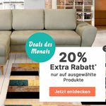 Cnouch Sale 16% auf (fast) alles Sofas, Sessel und Wohnmöbel – 20% auf ausgewählte Artikel
