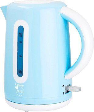 Bestron en Vogue AWK300 Wasserkocher in blau für 20,39€ (statt 27€)