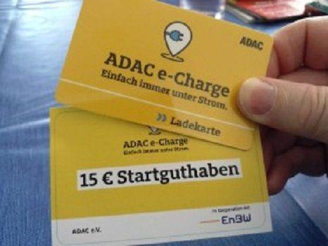 ADAC e Charge Ladekarte inkl. 15€ Startguthaben